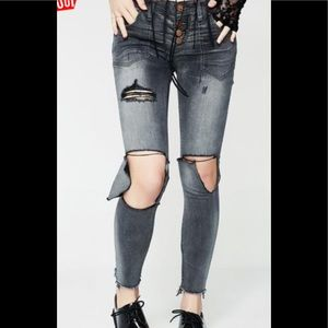 Free bird 11 Skinny Jeans- One Teaspoon brand